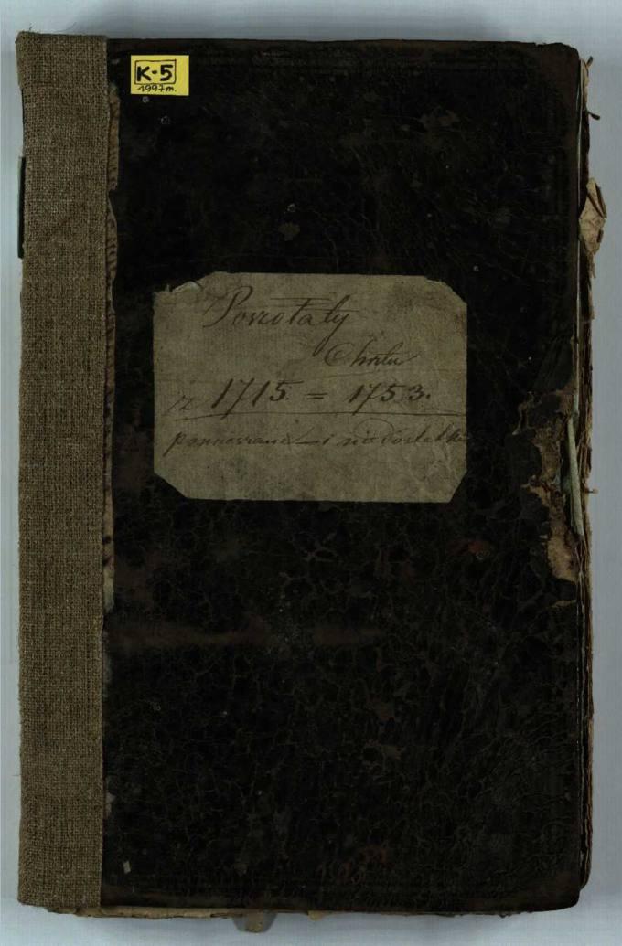 Pušaloto Romos katalikų parapijos bažnyčios 1715–1753 metų krikšto metrikų knyga