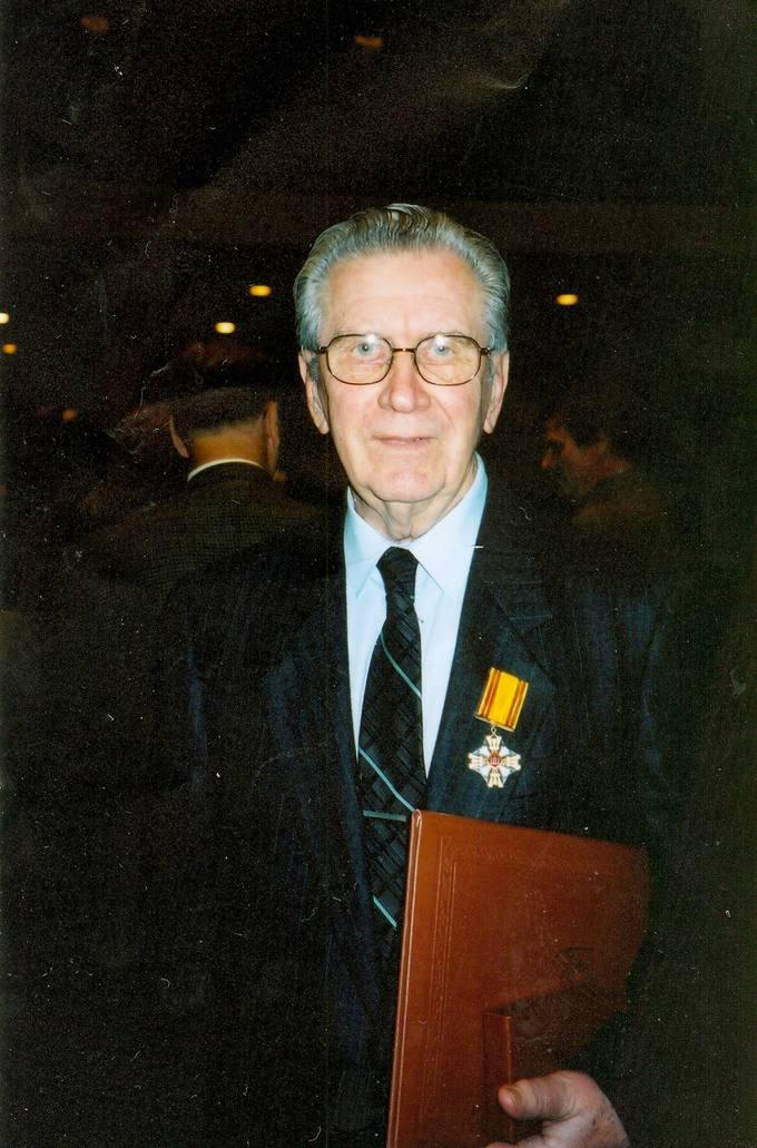 Česlovas Senkevičius – LDK Gedimino Riterio kryžiaus ordinininkas