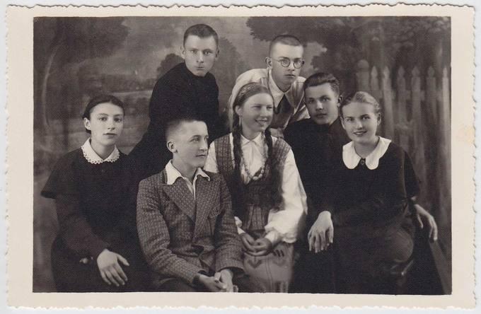 1938 m. gegužės 15 d. Panevėžyje įvykusio literatūros vakaro dalyvių grupė