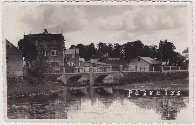 Istorinė Pasvalio miesto vieta: Svalios ir Lėvens santaka
