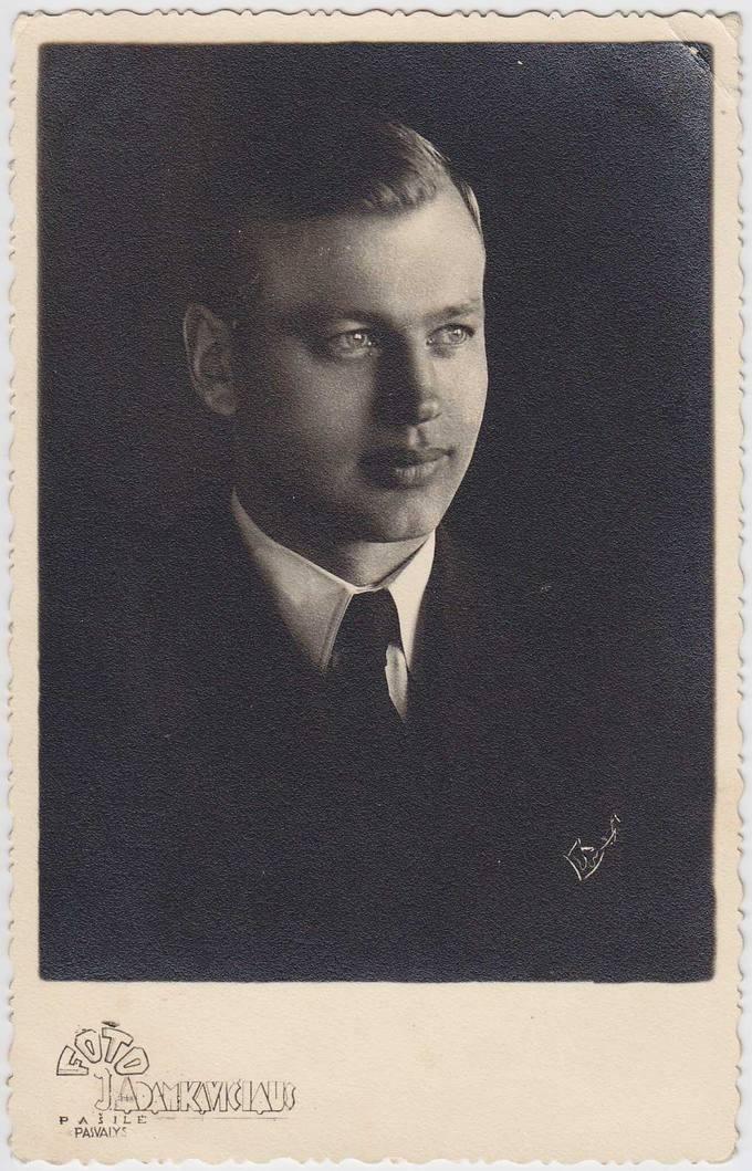 Pasvalio Petro Vileišio gimnazijos mokytojas lituanistas Antanas Musteikis