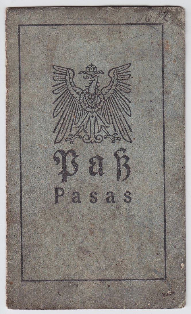 Josefos Wiskopaitis pasas, 1917 m.