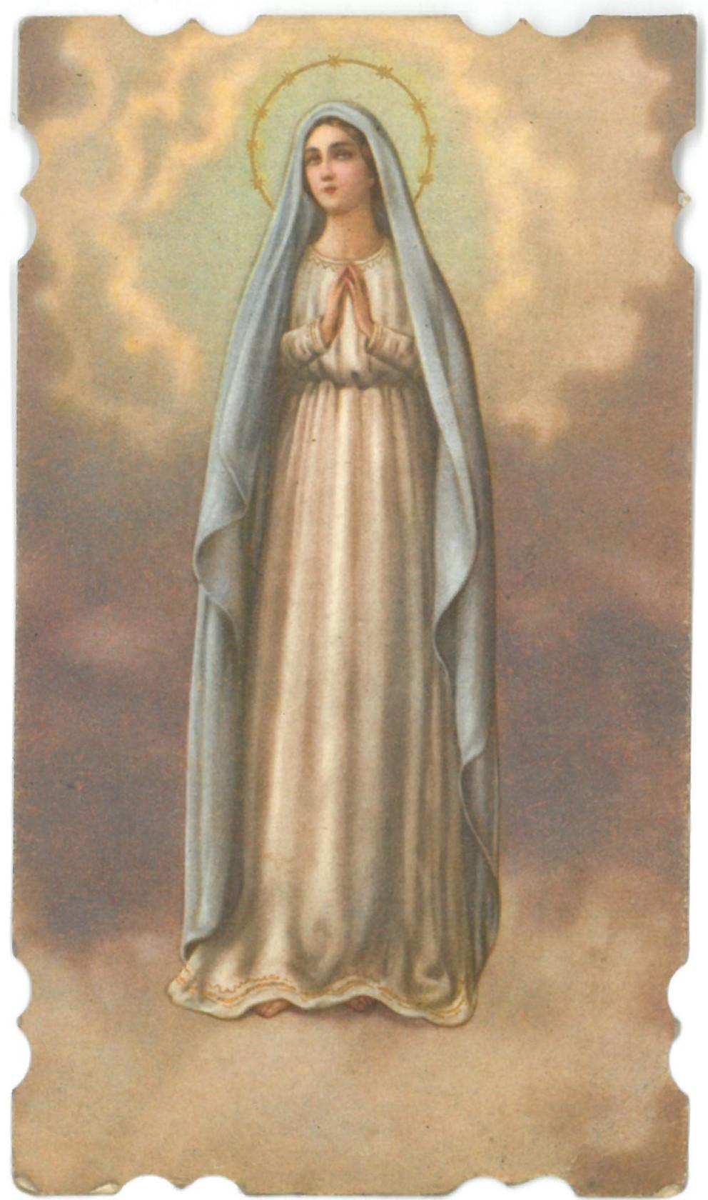 Religinis paveikslėlis. Švč. Mergelė Marija