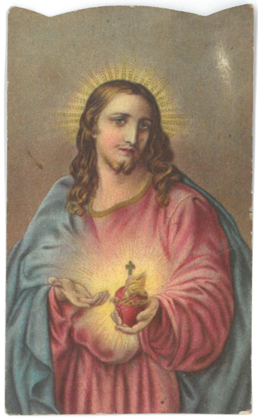 Religinis paveikslėlis. Švč. Jėzaus Širdis