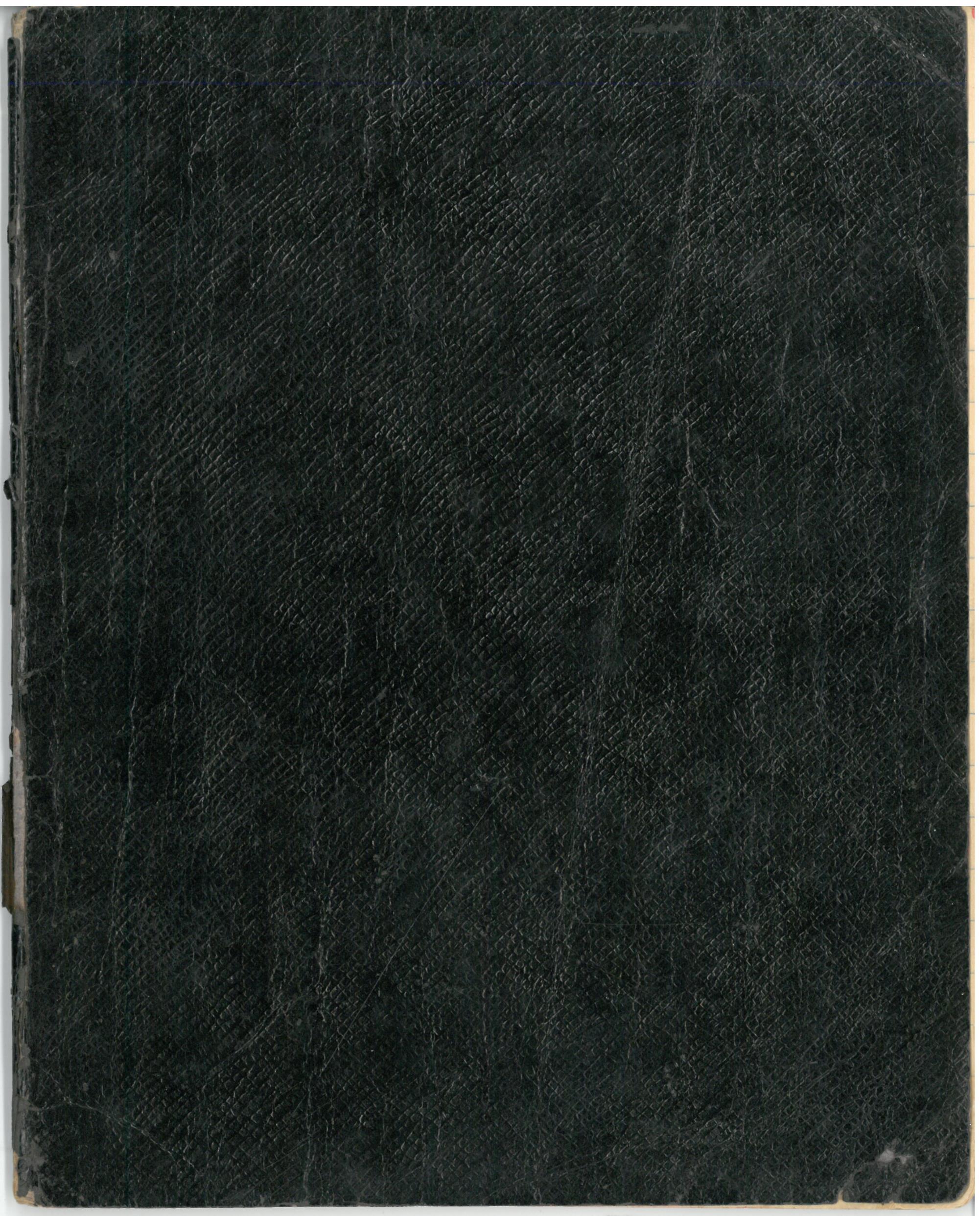 """Albino Vaitkaus (Mariaus Katiliškio) eilėraščių sąsiuvinis """"Mano žodžiai"""". II dal. 1931 m."""