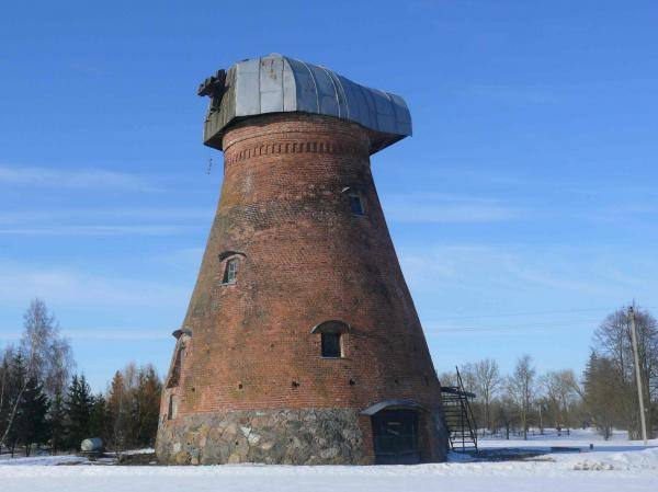 Pumpėnų vėjo malūnas. Algimanto Stalilionio nuotrauka