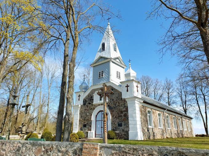 Skrebotiškio Švč. Jėzaus Širdies bažnyčia. Tomos Mikalajūnaitės nuotrauka, 2020