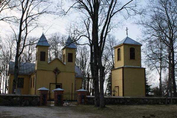 Kriklinių Švč. Mergelės Marijos Apsilankymo bažnyčia. Almanto Laužadžio nuotrauka, 2009 [interaktyvus]. Prieiga per internetą: https://www.miestai.net/forumas/forum/bendrosios-diskusijos/miestai-ir-architekt%C5%ABra/sakralin%C4%97-architekt%C5%ABra/7514-%E2%80%A0-pasvalio-r-ba%C5%BEny%C4%8Dios?t=7269