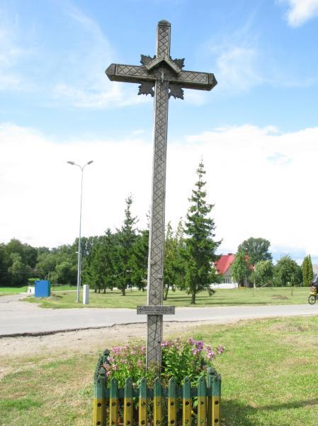 Baltijos kelio paminklai Pasvalio ruože, nuo Latvijos pasienio iki Panevėžio rajono ribos