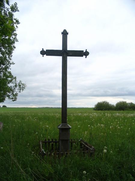 Kryžius partizanui Antanui Andrašiūnui Dovyduose