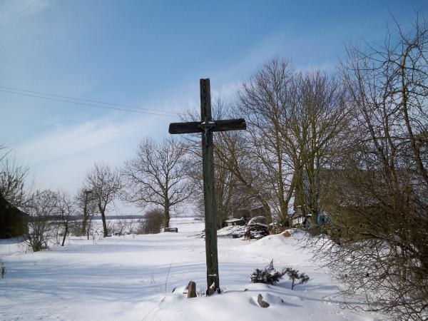 Kryžius Norgėlų kaimui atminti