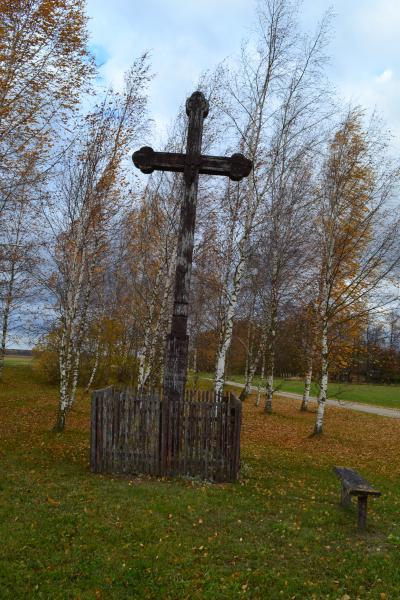 Kryžius Sindriūnų kaimo žmonėms