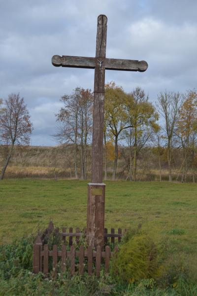Kryžius pavasarininkams Migonių kaime