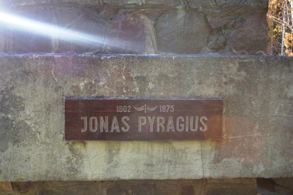 Paminklas broliams Pyragiams Baluškių kaime