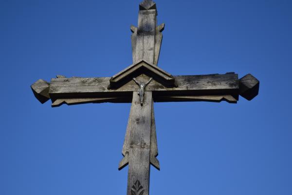 Kryžius Baluškių kaimo žmonėms