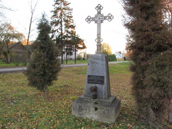 Kryžius Girsūdų kaimo jaunimui