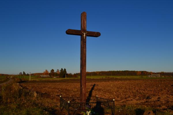 Kryžius netoli Porijų kaimo