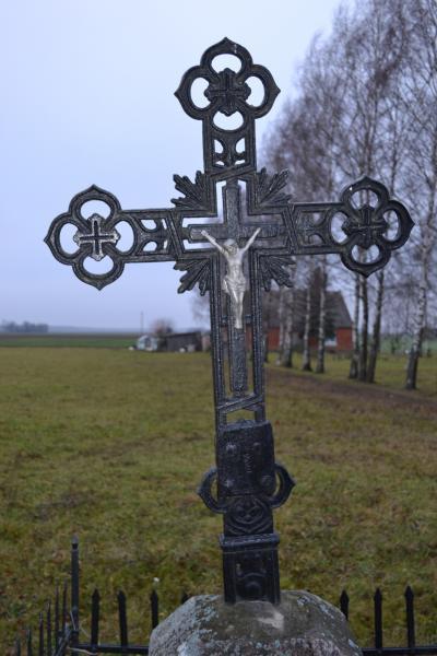 Kryžius prie D. Lelienės sodybos