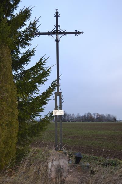Kryžius partizanui Antanui Urbonui-Uosiui ties Migonių kaimu
