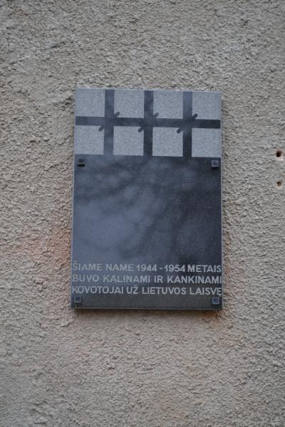 Atminimo lenta Joniškėlio NKVD-MVD-MGB poskyryje ir stribų būstinėje