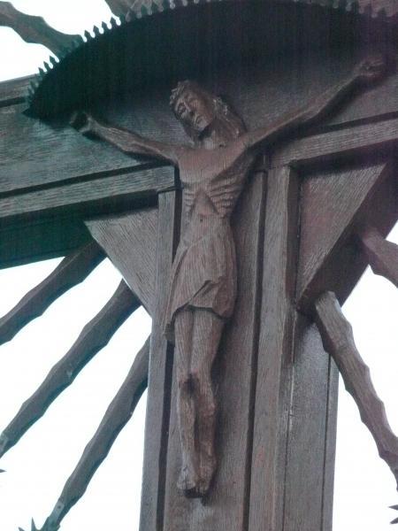 Kryžius Jovaišaitės sodyboje, Norelių kaime