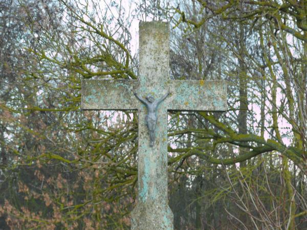 Kryžius Burkų šeimai Norių kaime