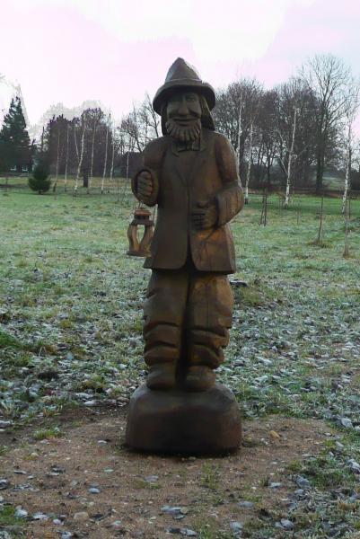 Skulptūros Norių kaimo parke