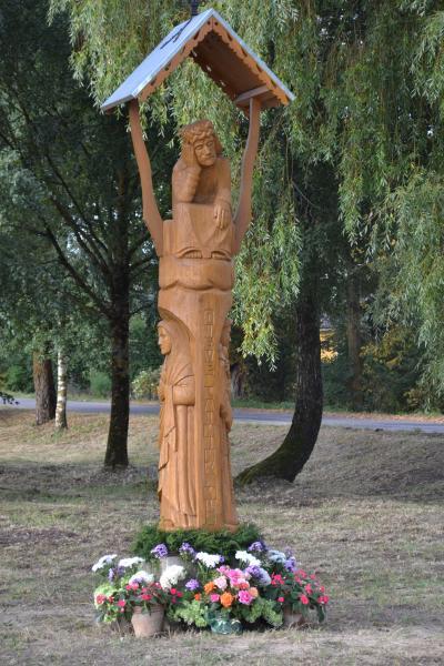 Koplytstulpis Norių kaimo 420 m. jubiliejui