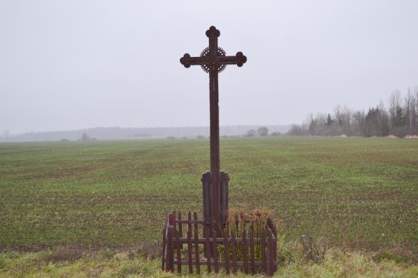 Kryžius ties sankryža Valdeikiai–Katkūnai–Norgėlai