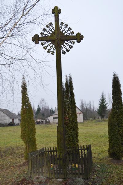 Kryžius Sabonių kaime