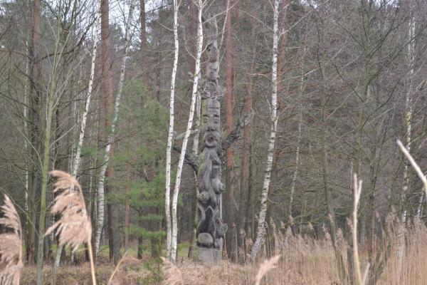 Skulptūros Pasvalio kultūros ir poilsio parke