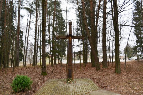 Kryžius kovotojams už Lietuvos laisvę Pasvalio kultūros ir poilsio parke