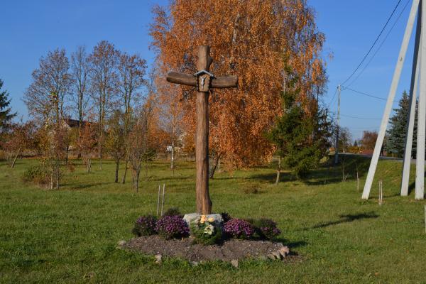 Kryžius Žilpamūšio kaimo 110 m. įkūrimo jubiliejui