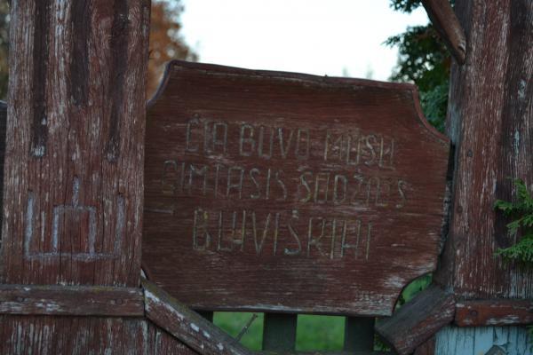 Koplytstulpiai Buiviškių kaimui