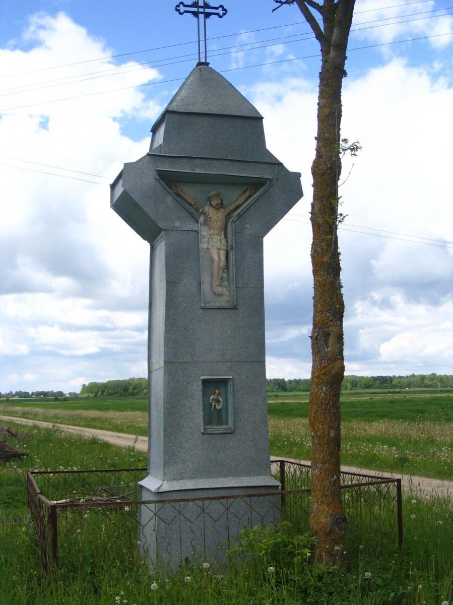 Kryžius pavasarininkams Nemeikšiūnų kaime