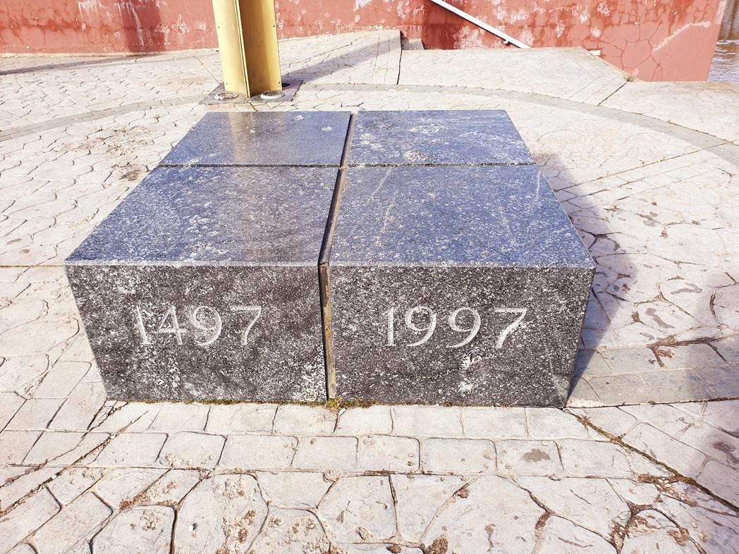 Paminklas Pasvalio miesto įkūrimo 500 m. jubiliejui