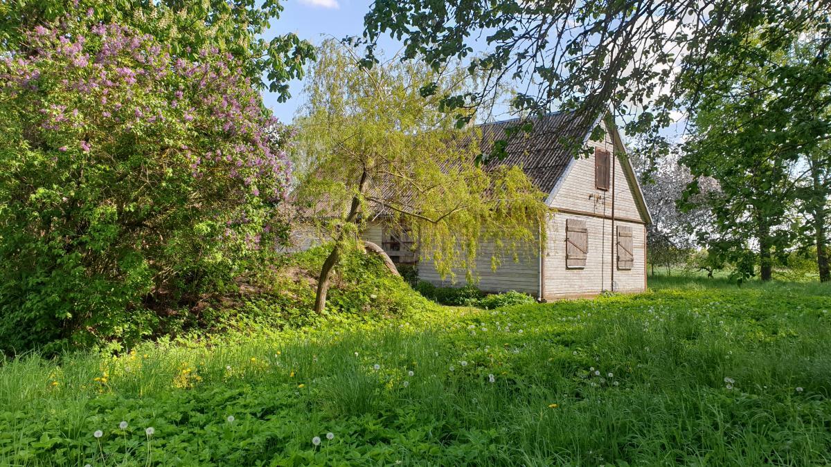 Paminklinis akmuo išnykusiam Pamiškių kaimui Pasvalio apylinkių seniūnijoje, Pasvalio rajone