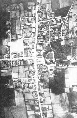 Vaškų miestelio aikštė ir gatvių tinklas