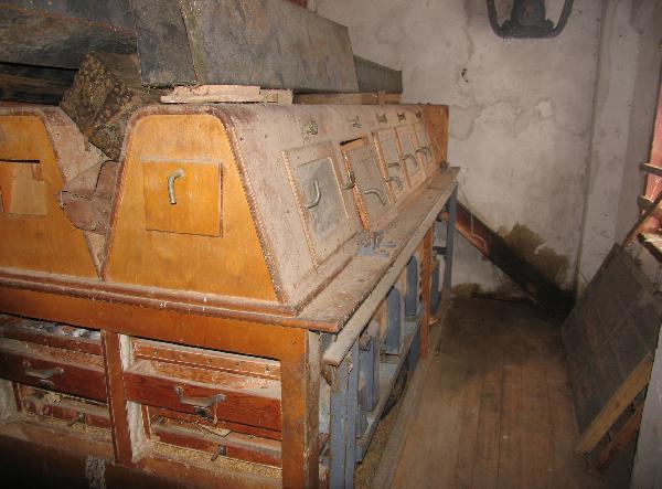 Raubonių vandens malūnas – vilnų karšykla-verpykla