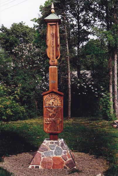 Stogastulpis Kriklinių 450 m. jubiliejui