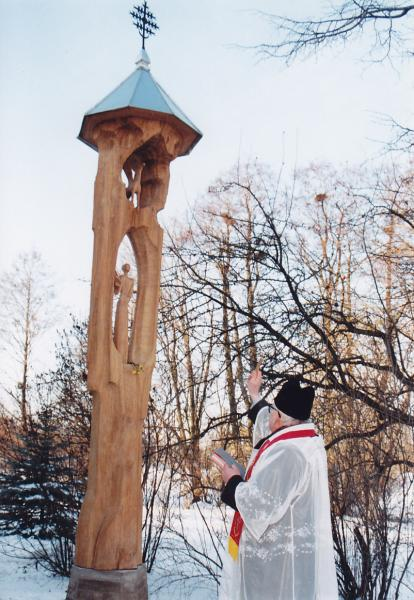 Stogastulpis poetui Eugenijui Matuzevičiui Krinčine