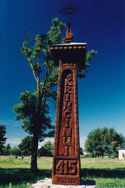 Stogastulpis Krinčino 415 m. sukakčiai