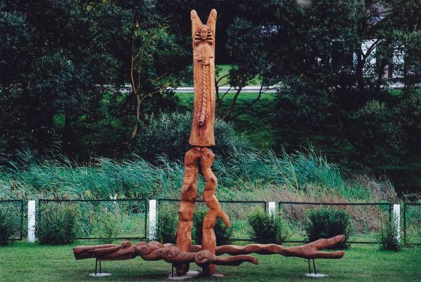 Skulptūros prie Lėvens pagrindinės mokyklos, Pasvalyje