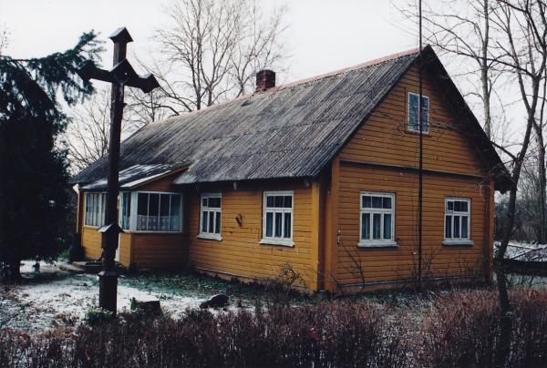 Dailininko Antano Jaroševičiaus tėviškė Skrebotiškio kaime