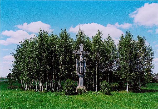 Kryžius Tetirvinų kaimo žmonėms